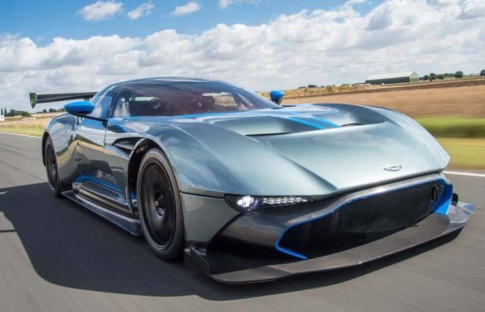 Aston Martin Vulcan - US $ 3,4 milhões