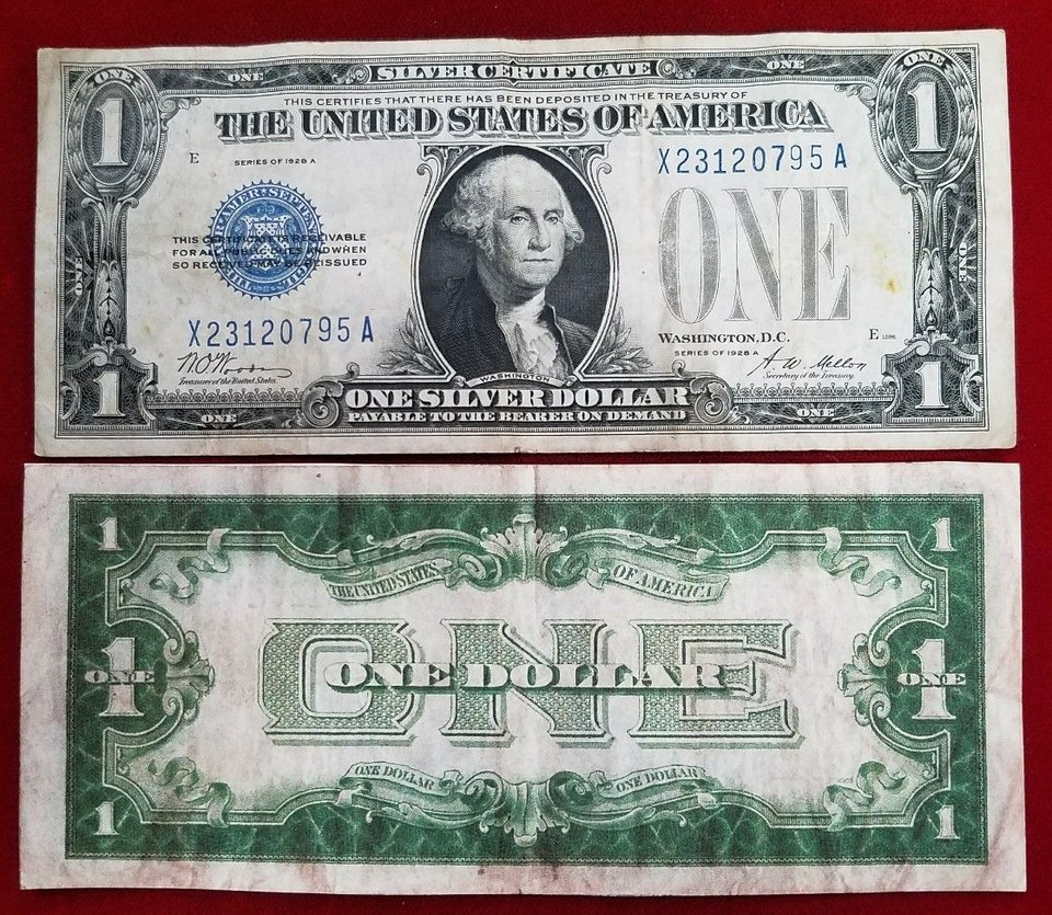 "US $ 1 ""Series of 1928"""