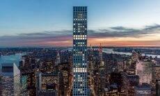 Os andares 91 a 96 são chamados de penthouses porque seus layouts são diferentes do resto do prédio