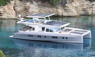 Serenity Solar Yacht