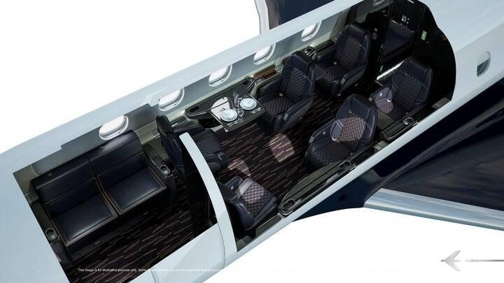 Praetor 500 - interior