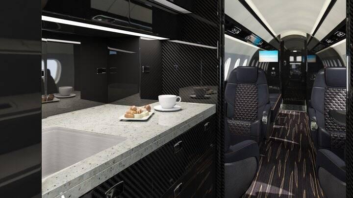 Praetor 600 - interior