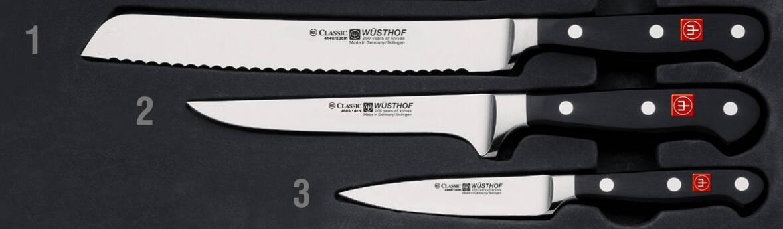 Facas da marca WÜSTHOF