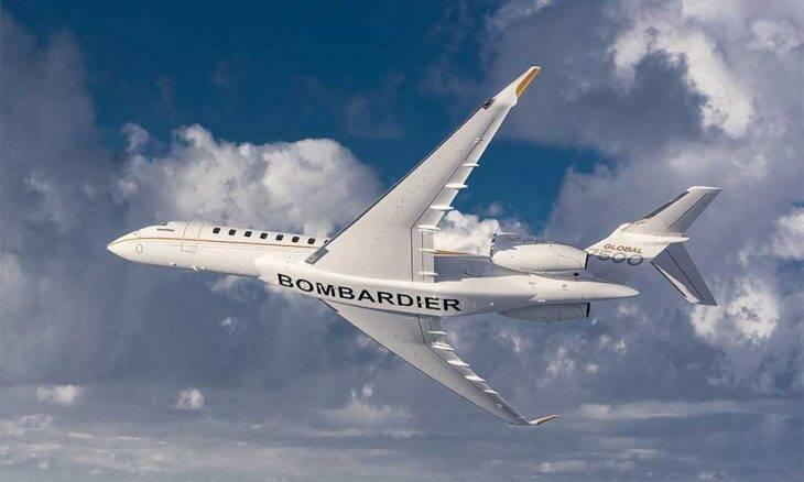Concorrente da Embraer, laná jato executivo que pode ir de São Paulo a Nova Zelândia sem parar.
