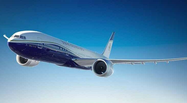 Boeing lança o Jet Business de maior autonomia com o BBJ 777X