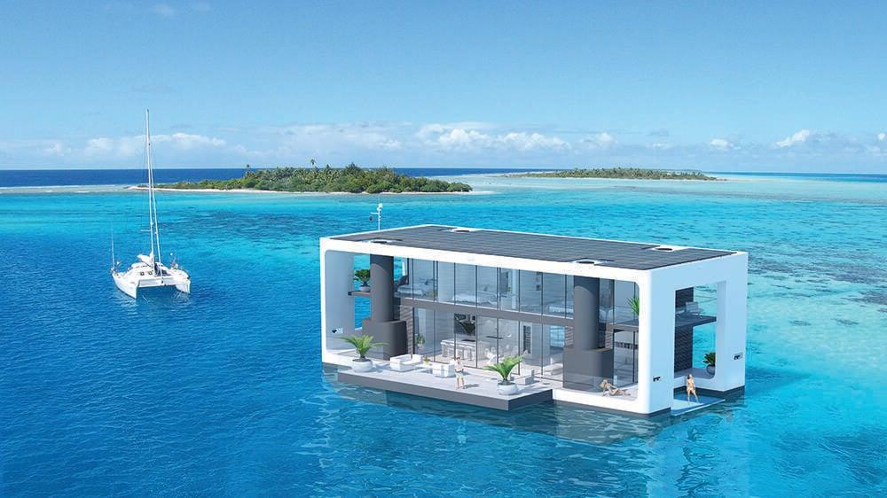 A empresa também seguiu os padrões de construção ABYC e NMMA para garantir que ela seja construída como um barco, em vez de uma casa flutuante.