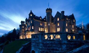 The Carnegie Club no Castelo de Skibo, na Escócia
