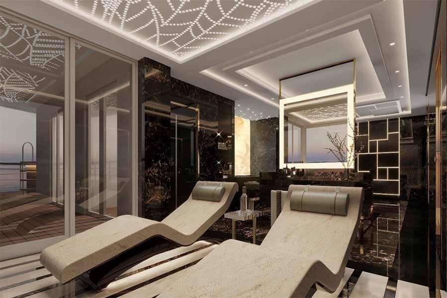 Sala de estar - Regent Suite Divulgação