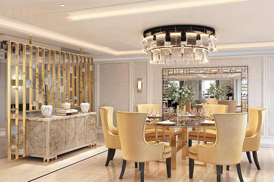 Sala de jantar - Regent Suite Divulgação