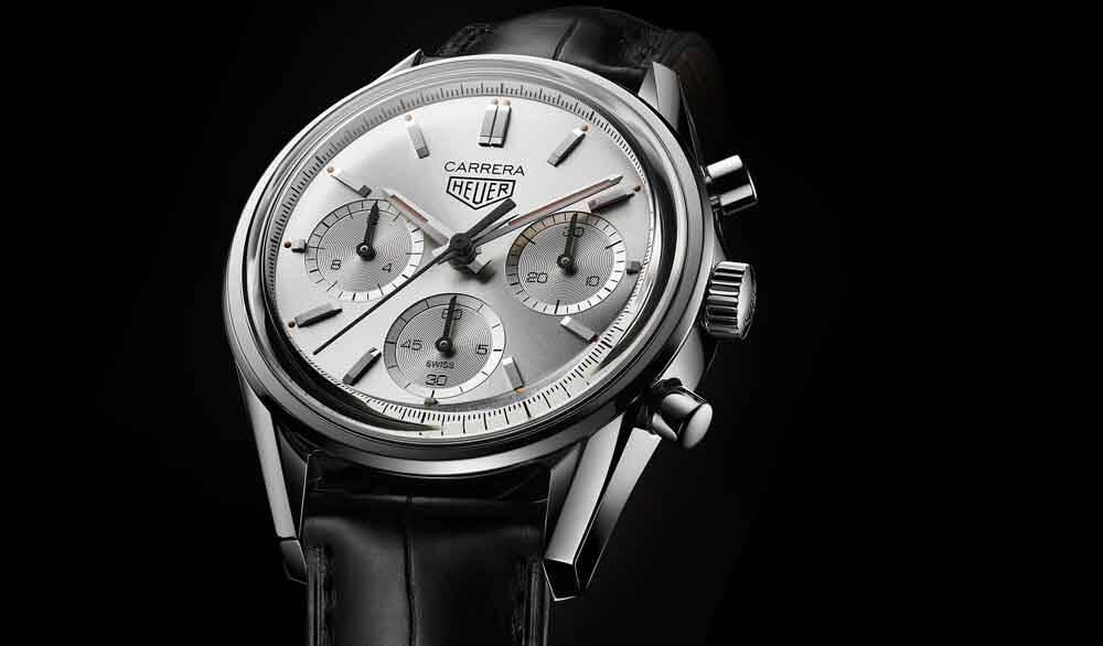 TAG Heuer apresenta a edição limitada da Carrera 160 Years Silver