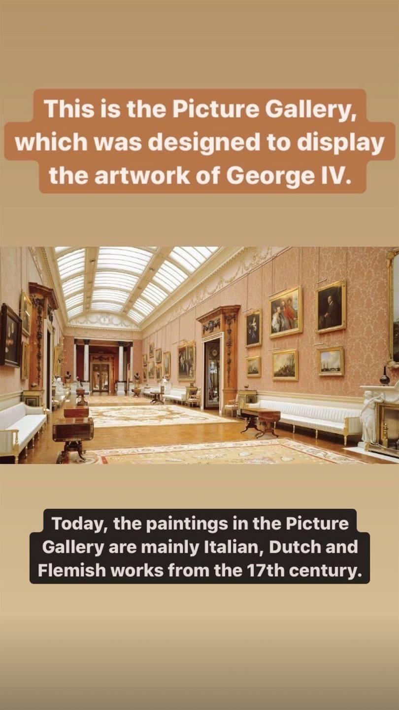 Tour virtual no Palácio de Buckingham
