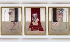 Tríptico de Francis Bacon é vendido por R$ 457 milhões em leilão 'histórico'