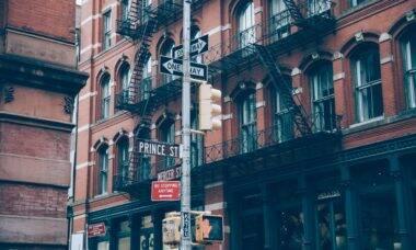 Prédio em Nova York