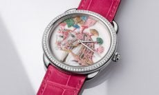 Hermès lança relógio com mostrador de porcelana