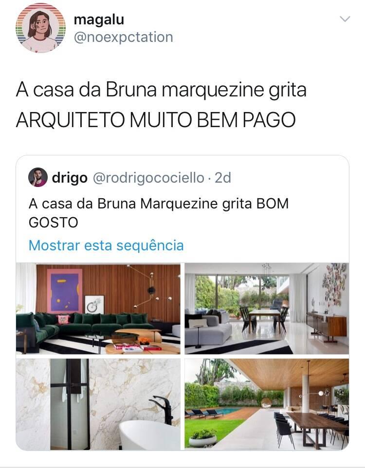 Mansão de Bruna Marquezine impressiona e vira meme nas redes sociais