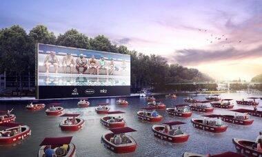 Cinema flutuante abre temporada de verão em Paris