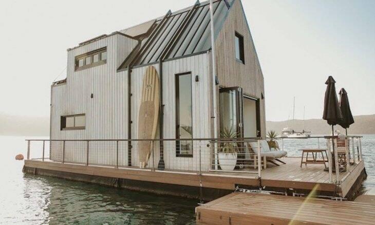 Hotel flutuante na Austrália onde você pode se isolar do mundo