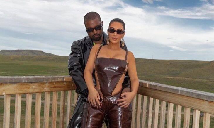 Kim Kardashian, agora bilionária, e Kenye West