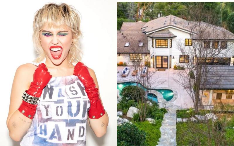 Miley Cyrus compra mansão de R$ 26 milhões e será vizinha de Kim Kardashian