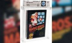 Super Mario: fita de videogame rara é vendida por R$ 610 mil e quebra recorde