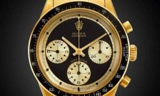 Rolex Cosmograph Daytona 6264 em ouro 18k . Foto: Divulgação / SOTHEBY'S