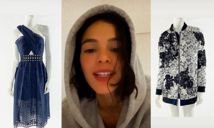 Roupas de Bruna Marquezine estão à venda em bazar beneficente