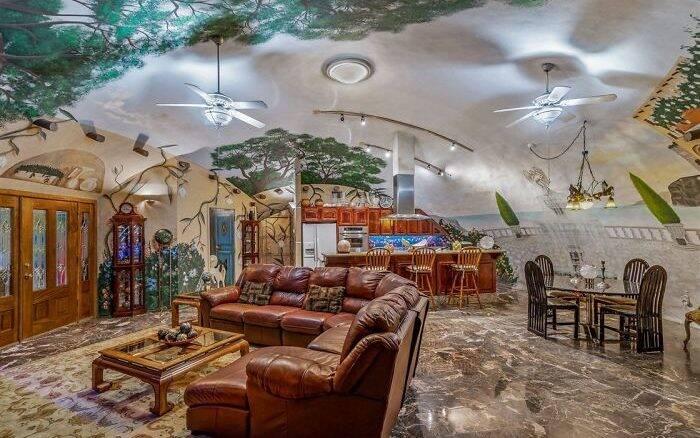 Por dentro de uma casa subterrânea de R$ 12 milhões