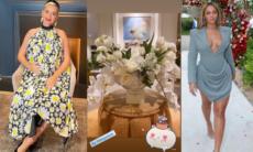 Katy Perry ganha buquê de flores de R$ 1,3 mil de Beyoncé pelo nascimento da filha
