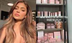 'Quarto da beleza' da nova mansão de Kylie Jenner impressiona internautas