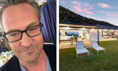 Matthew Perry, o eterno Chandler de 'Friends', compra mansão com vista para o Oceano Pacífico por R$ 32,9 milhões