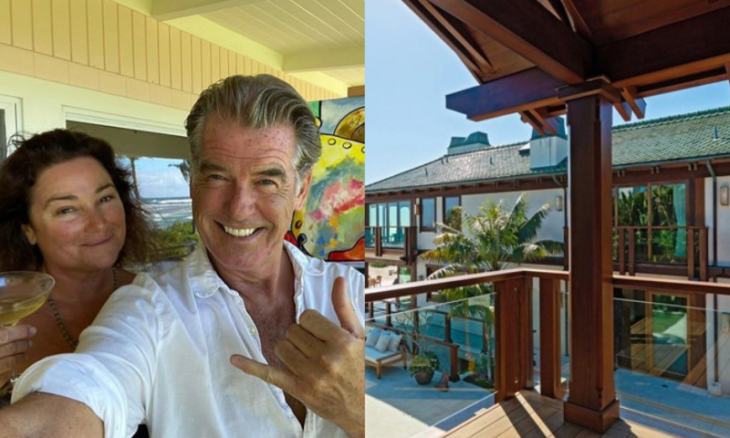 Pierce Brosnan coloca mansão em Malibu à venda por R$ 566 milhões