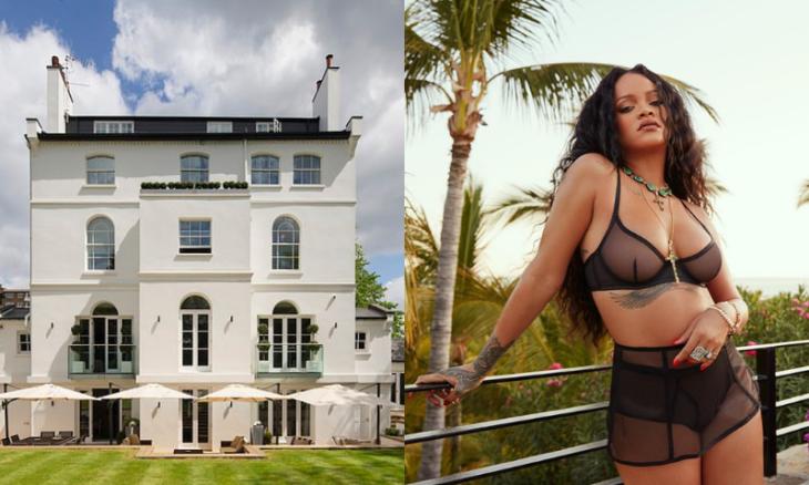 Mansão na qual Rihanna morou em segredo em Londres está à venda por R$ 217 milhões
