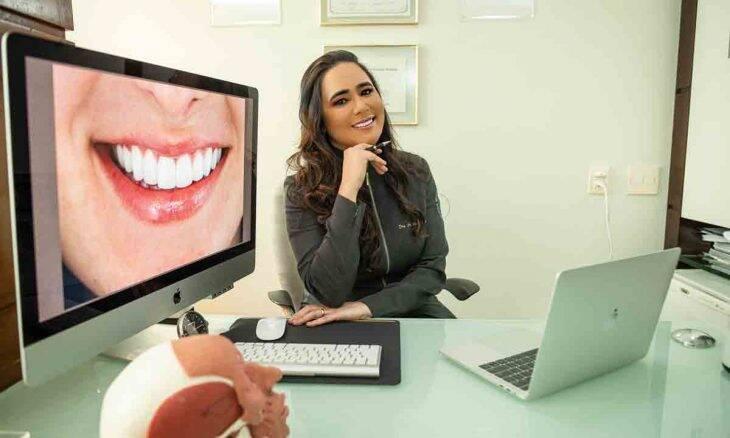 Especialista em harmonização orofacial, Dra Andréa Murta inova nos tratamentos faciais. Foto: Divulgação