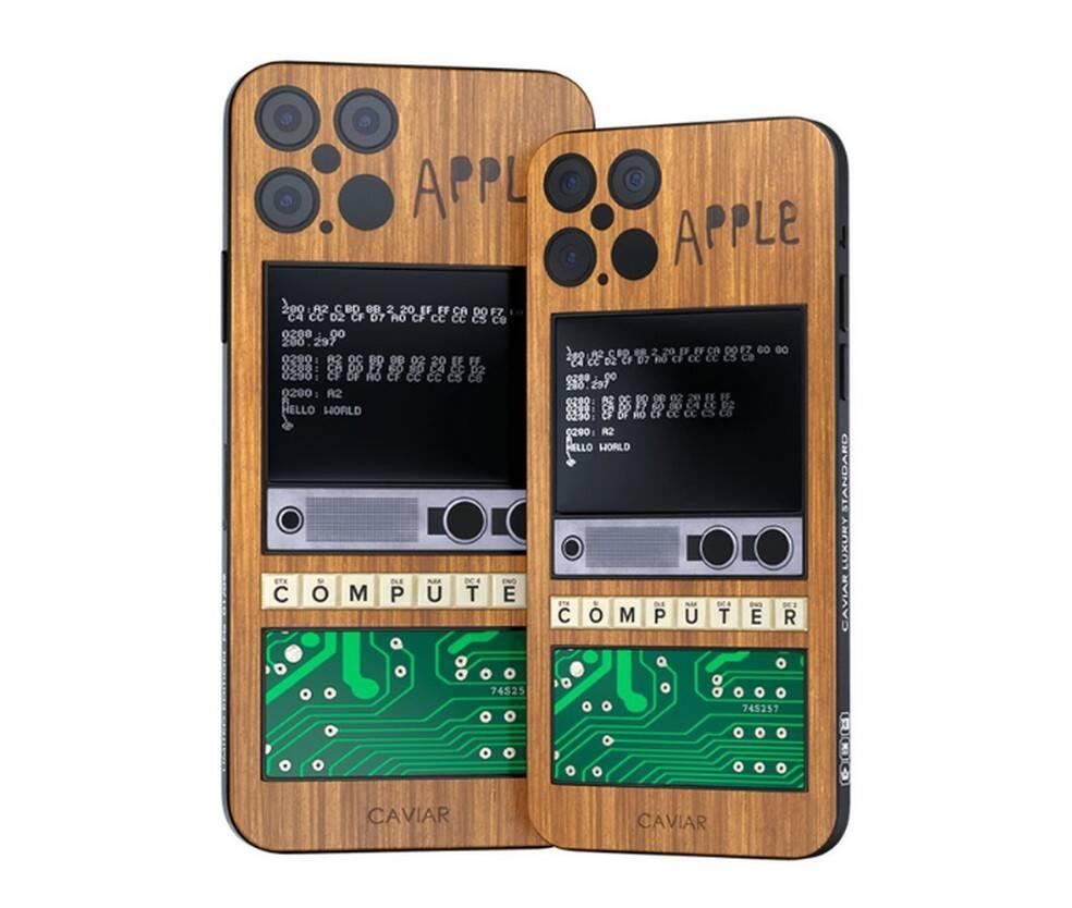 Edição de luxo do iPhone 12 homenageia primeiro computador da Apple