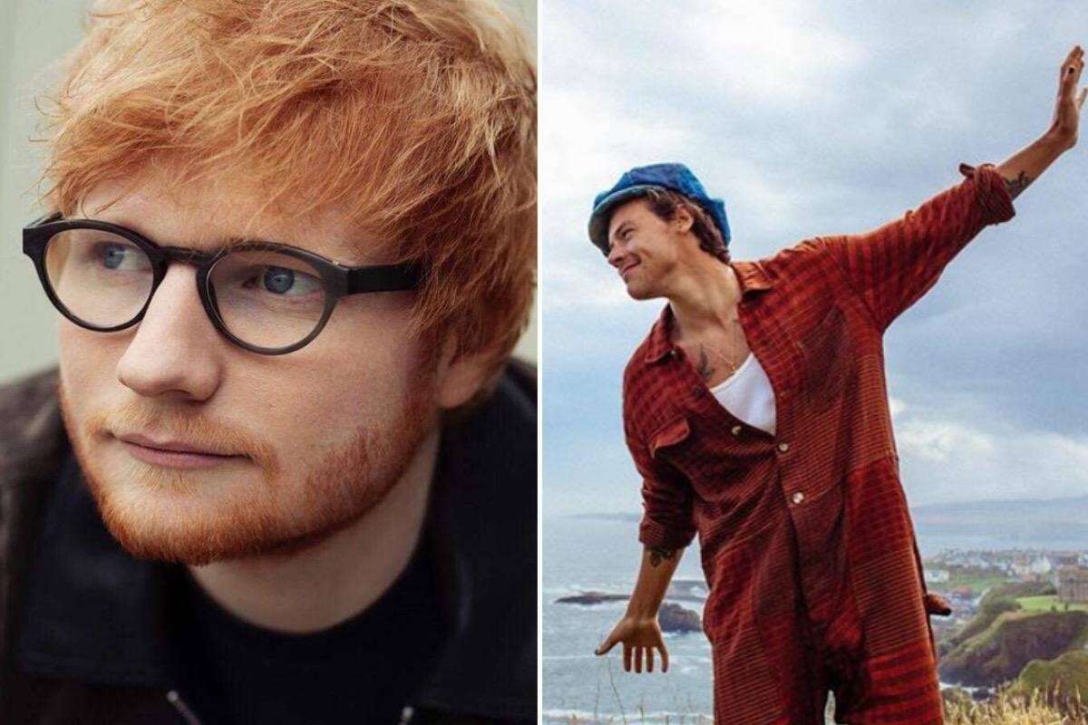 Ed Sheeran e Harry Styles são os britânicos mais ricos de 2020 com menos de 30 anos