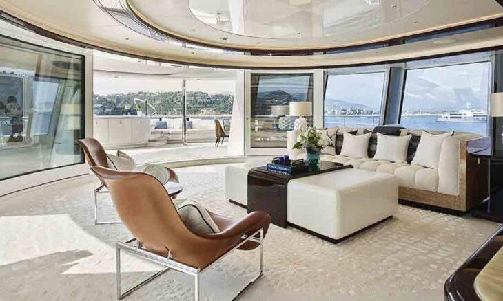 4 designers compartilham suas inspirações para decoração de superiates de luxo. Foto: Reprodução/Burgess Yachts