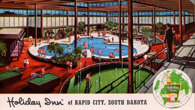 O parque de diversões do passado: Confira antigo hotel de luxo dos EUA