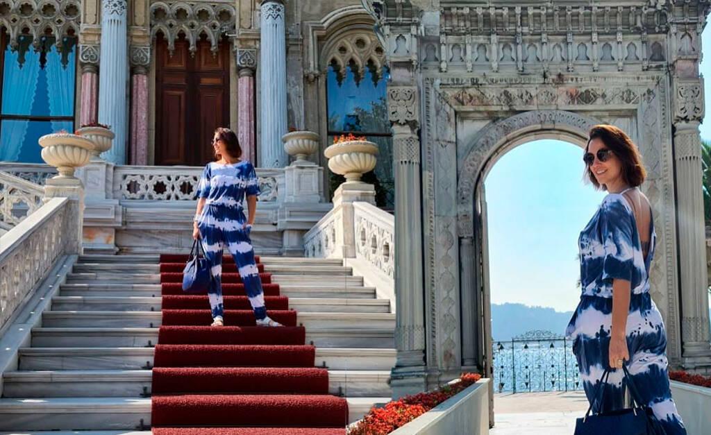 Luciana Cardoso viaja para a Turquia e se hospeda em hotéis com diárias de até R$ 12 mil