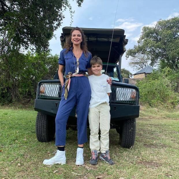 Luciana Gimenez viaja para a Tanzânia e se hospeda em resort com diária de até R$ 150 mil
