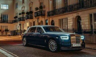 A Rolls-Royce apresenta o 'Privacy Suite', um oásis para o passageiro, que poderá ver, mas não será visto ou ouvido. Foto: Divulgação