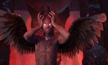 Os 'Sapatos de Satanás' do rapper Lil Nas X conterão uma gota de sangue humano. Foto: reprodução Youtube