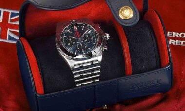 Breitling lança serviço de aluguel de relógios de luxo a partir de R$ 700 por mês. Foto: reprodução Instagram