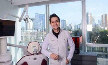 Igor Ribeiro, o dentista dos famosos. Foto: Divulgação