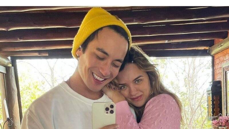 Daniel Caon e Rafa Kalimann em viagem romântica. Fotos: Reprodução/Instagram
