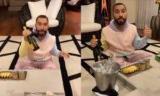 Gil do Vigor se hospeda em hotel de luxo em SP. Imagens: Reprodução/Instagram