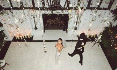 Casamento Ariana Grande. Fotos: Stefan Kohli/Reprodução Instagram