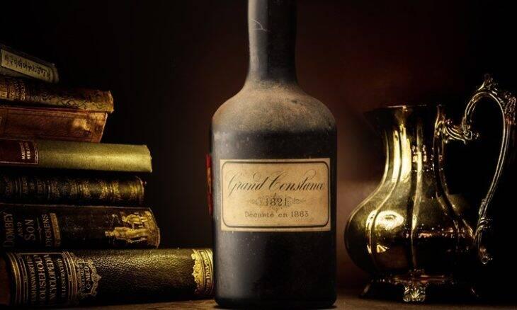 Leilão vinho de Napoleão. Crédito: Divulgação/Cape Fine & Rare Wine Auction