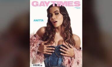 Anitta é capa da revista Gay Times. Foto: Reprodução/Instagram