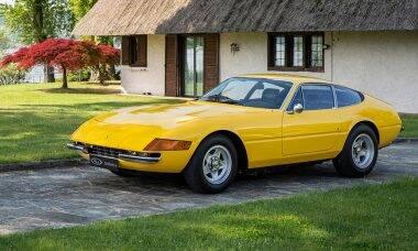 Ferrari Daytona. Fotos: Divulgação/ RM Sotheby's