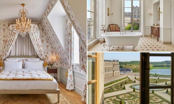Hotel no Palácio de Versalhes, França. Fotos: Renee Kemps